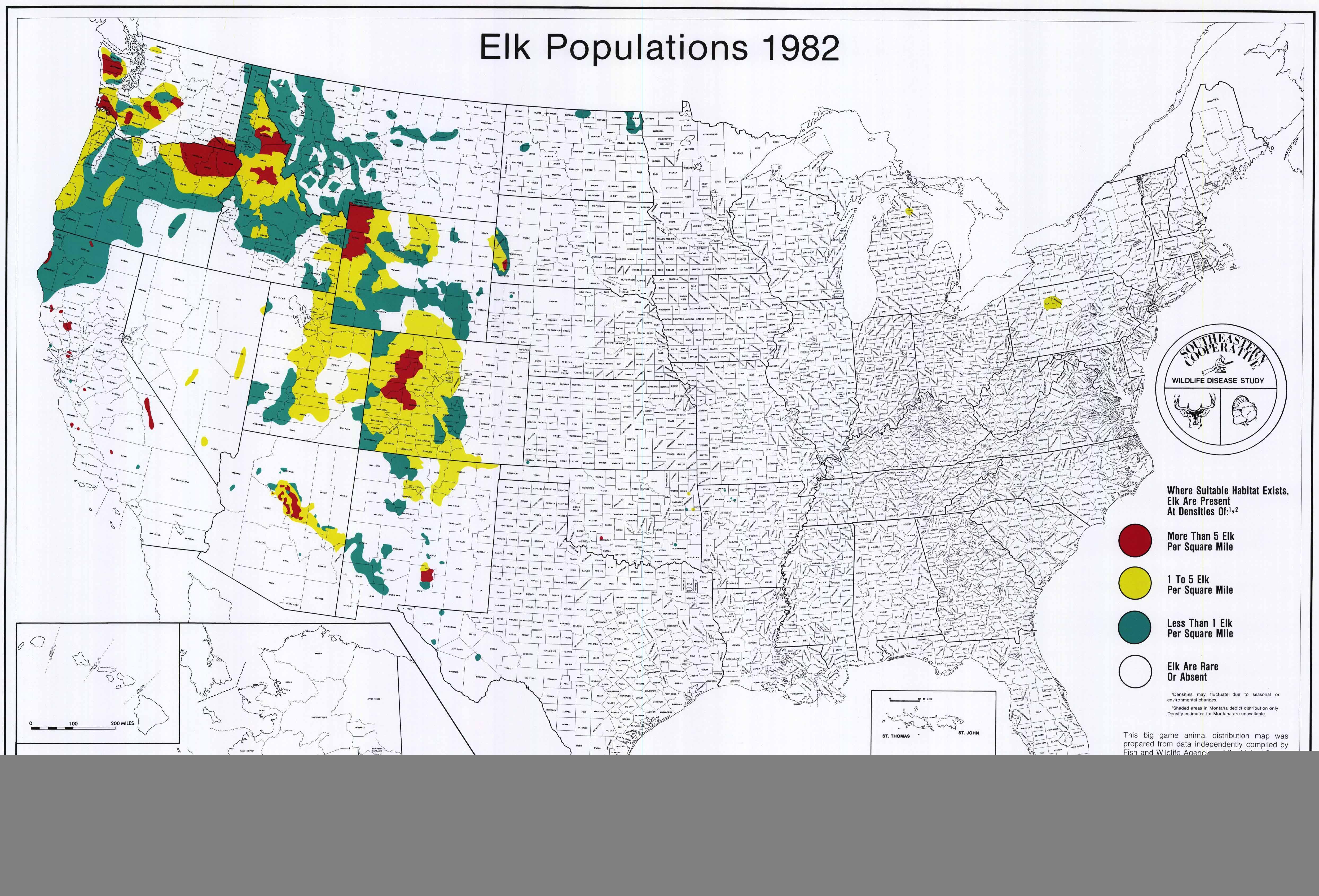 Map Of Elk Population In Canada Elk Reintroduced to West Virginia | Guide Outdoors